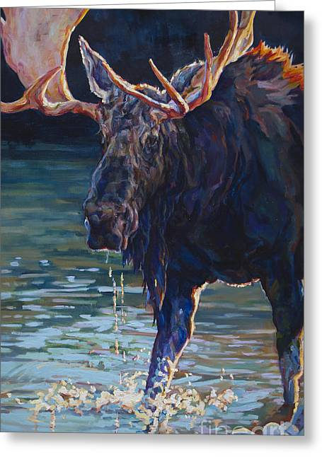 Bull Creek Greeting Cards - Hans Greeting Card by Patricia A Griffin