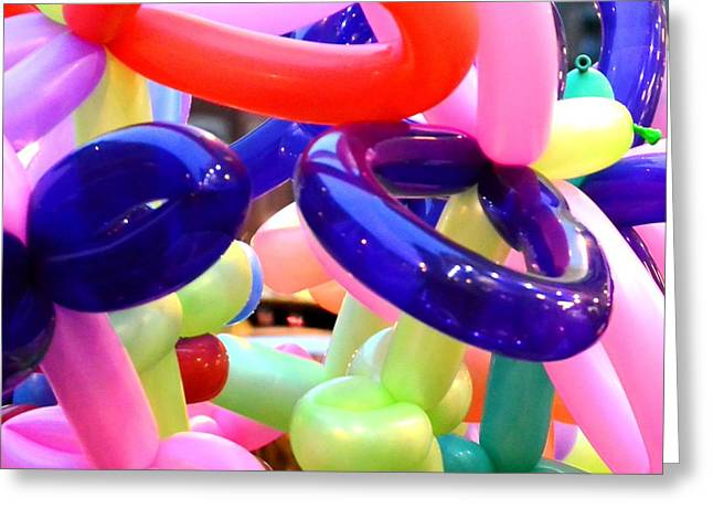 Balloon Vendor Greeting Cards - Happiness Is Greeting Card by Lisa Kilby