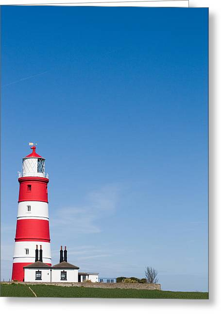 Paul Lilley Greeting Cards - Happisburgh Lighthouse Greeting Card by Paul Lilley