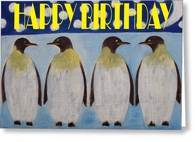 Wildlife Celebration Mixed Media Greeting Cards - Happy Birthday 15 Greeting Card by Patrick J Murphy