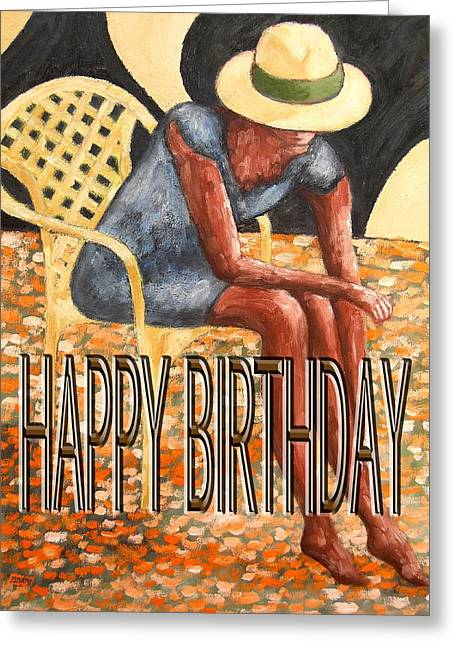 Irish Hat Greeting Cards - Happy Birthday 24 Greeting Card by Patrick J Murphy