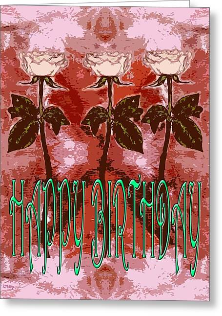 Birthday Greeting Cards - Happy Birthday 38 Greeting Card by Patrick J Murphy