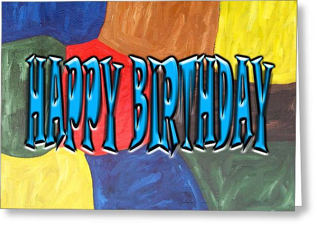 Tablets Greeting Cards - Happy Birthday 43 Greeting Card by Patrick J Murphy