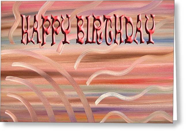 Tablets Greeting Cards - Happy Birthday 47 Greeting Card by Patrick J Murphy