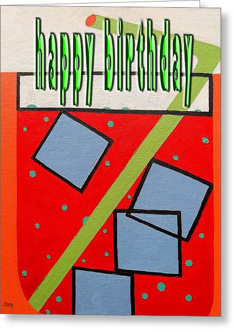 Tablets Greeting Cards - Happy Birthday 49 Greeting Card by Patrick J Murphy