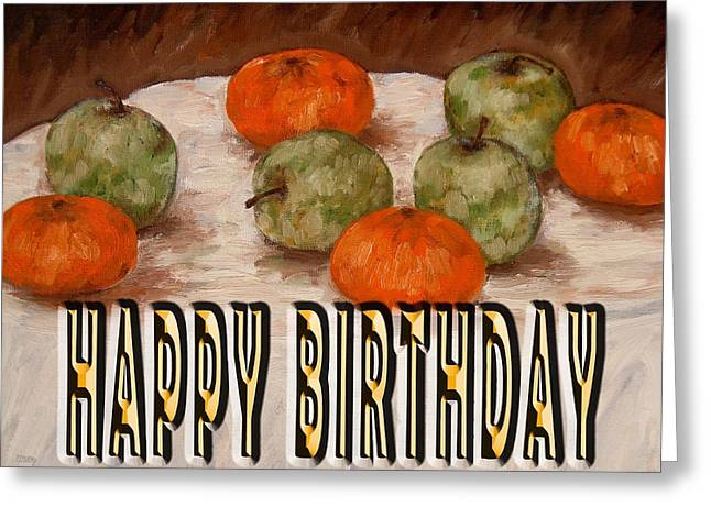 Celebration Art Print Greeting Cards - Happy Birthday 55 Greeting Card by Patrick J Murphy