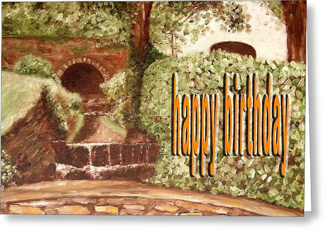 Tablets Greeting Cards - Happy Birthday 60 Greeting Card by Patrick J Murphy