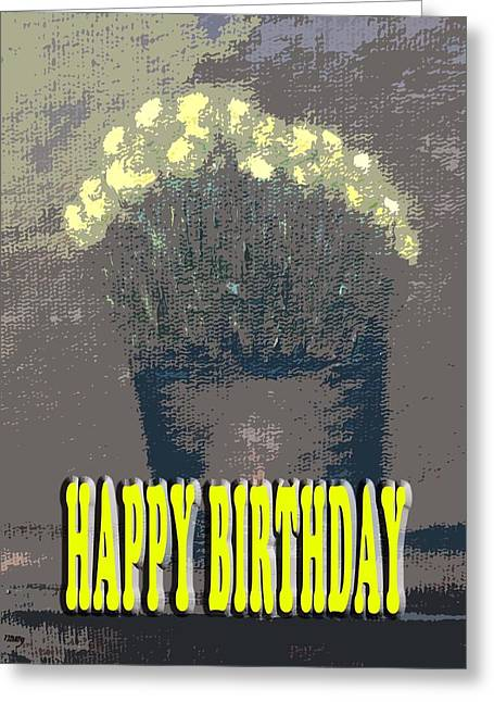 Celebration Art Print Greeting Cards - Happy Birthday 62 Greeting Card by Patrick J Murphy