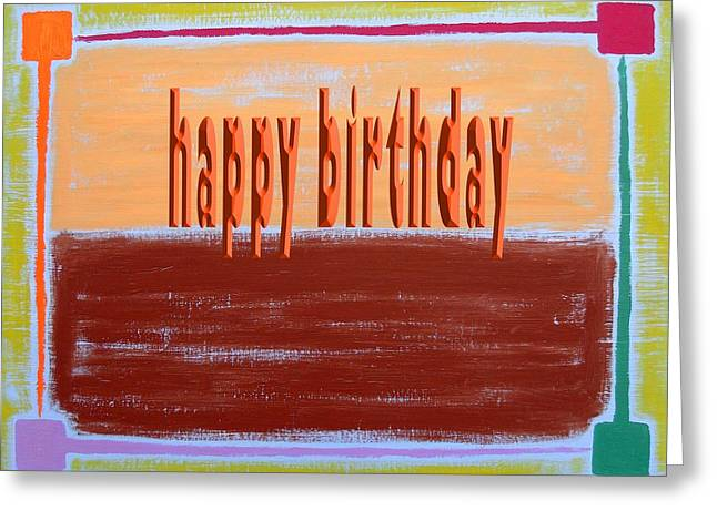 Tablets Greeting Cards - Happy Birthday 63 Greeting Card by Patrick J Murphy