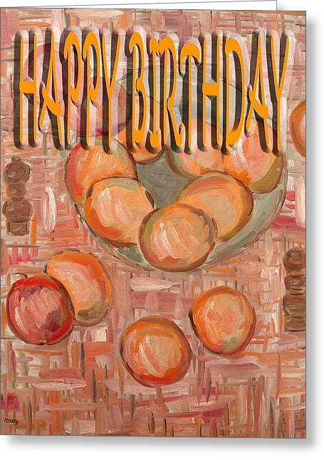Tablets Greeting Cards - Happy Birthday 64 Greeting Card by Patrick J Murphy