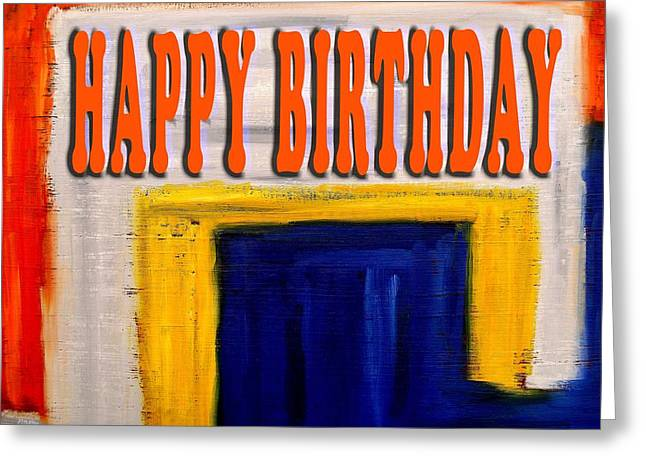 Celebration Art Print Greeting Cards - Happy Birthday 82 Greeting Card by Patrick J Murphy