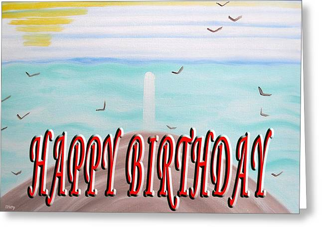 Celebration Art Print Greeting Cards - Happy Birthday 84 Greeting Card by Patrick J Murphy