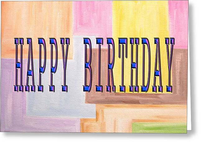 Celebration Art Print Greeting Cards - Happy Birthday 85 Greeting Card by Patrick J Murphy