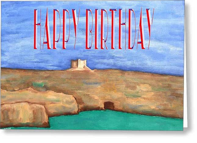 Celebration Art Print Greeting Cards - Happy Birthday 93 Greeting Card by Patrick J Murphy