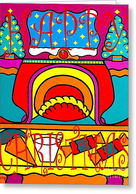 Child Jesus Mixed Media Greeting Cards - Happy Christmas 38 Greeting Card by Patrick J Murphy