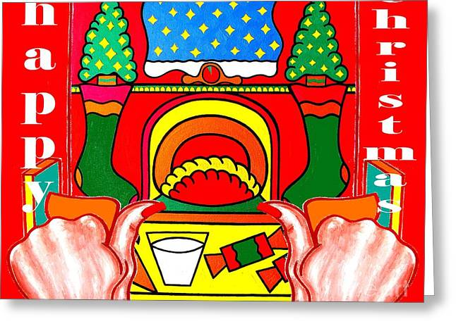 Child Jesus Mixed Media Greeting Cards - Happy Christmas 39 Greeting Card by Patrick J Murphy