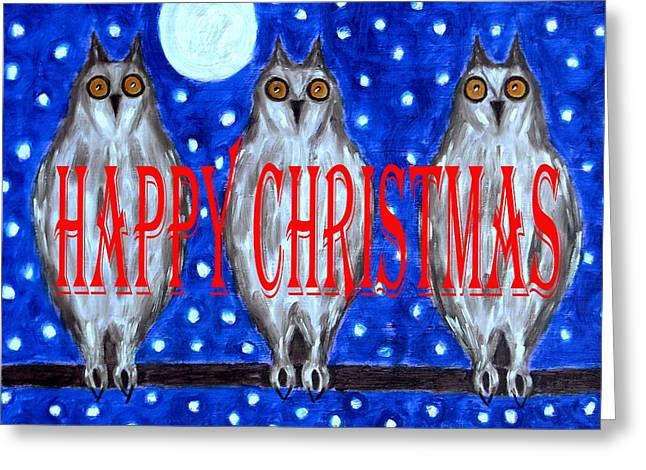 Wildlife Celebration Greeting Cards - Happy Christmas 94 Greeting Card by Patrick J Murphy