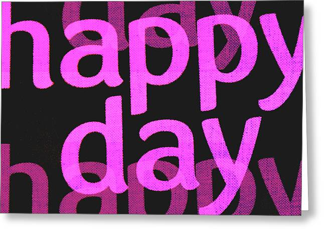 Cocain Greeting Cards - Happy Day Three Greeting Card by Sir Josef  Putsche