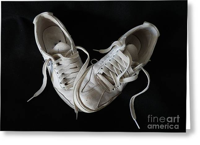 Nike Photographs Greeting Cards - Happy Days Greeting Card by Marcia Lee Jones