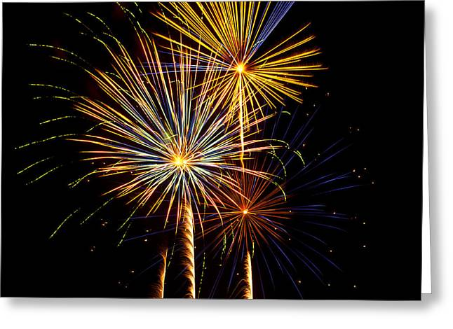 4th July Photographs Greeting Cards - Happy Fourth of July   Greeting Card by Saija  Lehtonen