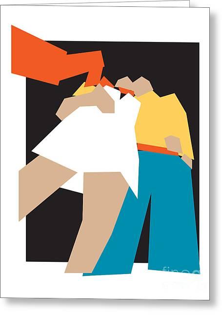 Toward Love Greeting Cards - Happy Future Greeting Card by Igor Kislev