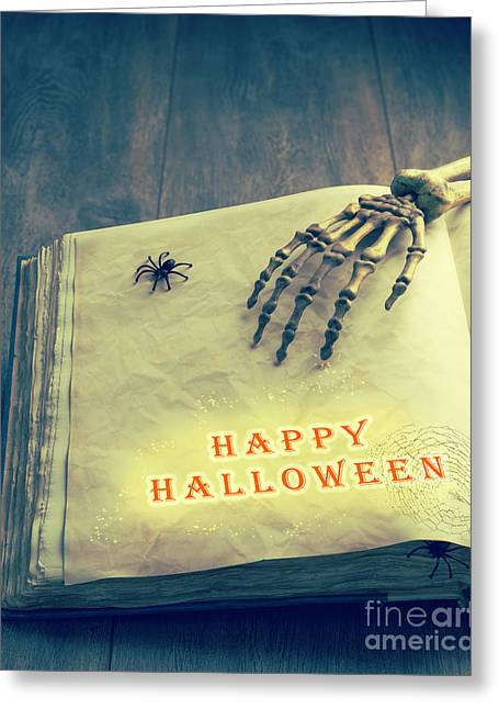 Trick-or-treat Greeting Cards - Happy Halloween Greeting Card by Amanda And Christopher Elwell