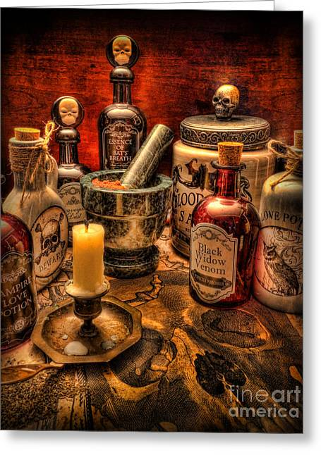 Witches Brew Greeting Cards - Happy Halloween II Greeting Card by Lee Dos Santos