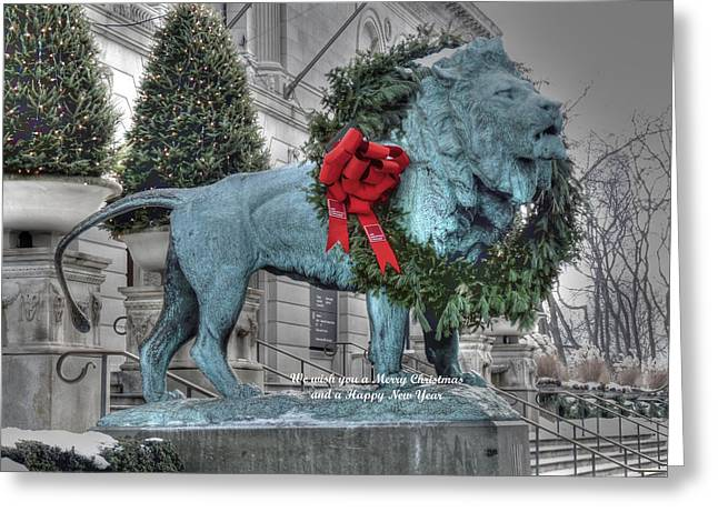Christmas Greeting Photographs Greeting Cards - Happy Holidays Greeting Card by David Bearden