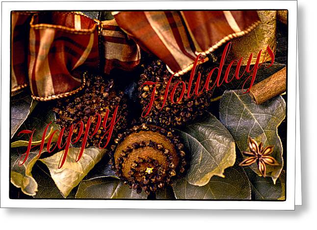 Occasion Digital Greeting Cards - Happy Holidays  Greeting Card by Julie Palencia