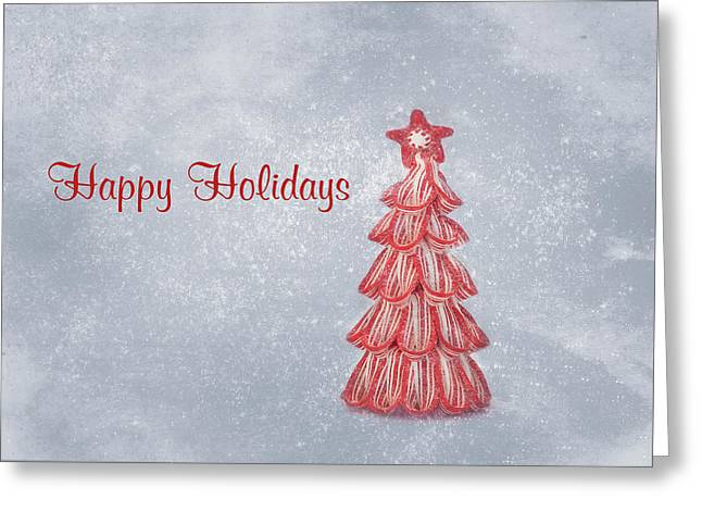 Kim Hojnacki Greeting Cards - Happy Holidays Greeting Card by Kim Hojnacki