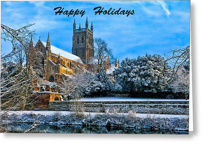Christmas Art Greeting Cards - Happy Holidays Photo Greeting Card by Roy Pedersen