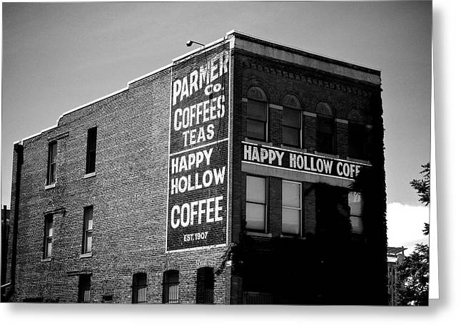 Ghost Signs Greeting Cards - Happy Hollow Greeting Card by Brandon Addis
