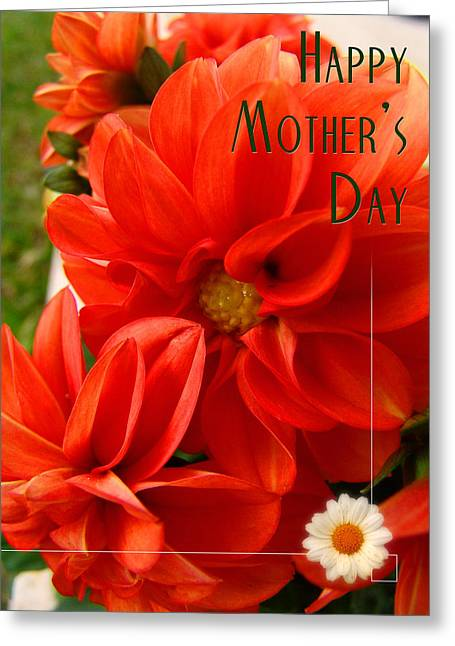 Margherita Greeting Cards - Happy mothers day 01 Greeting Card by Alessandro Della Pietra