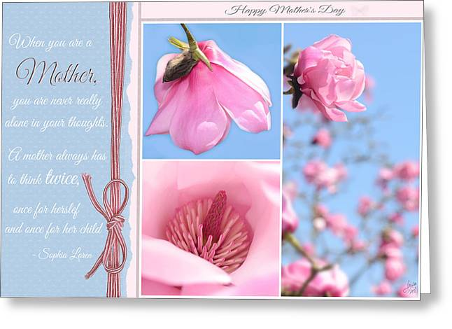 Happy Mother's Day Greeting Card by Lisa Knechtel