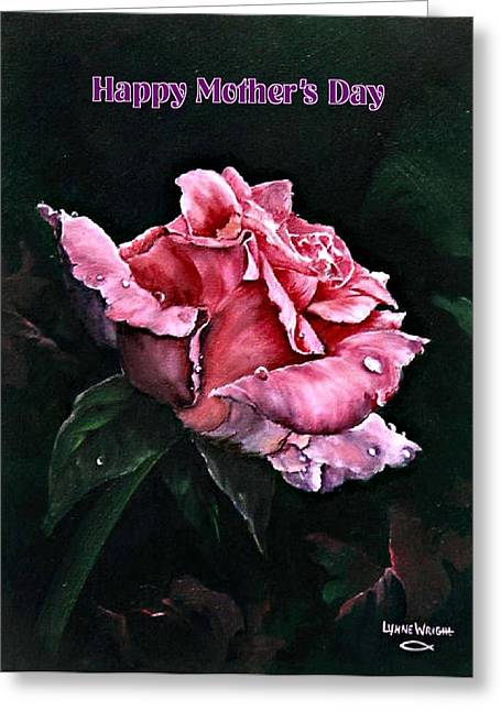 Caring Mother Greeting Cards - Happy Mothers Day Greeting Card by Lynne Wright