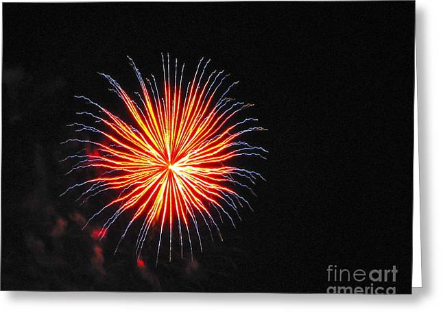 Commencement Bay Greeting Cards - Happy New Year Greeting Card by Sean Griffin
