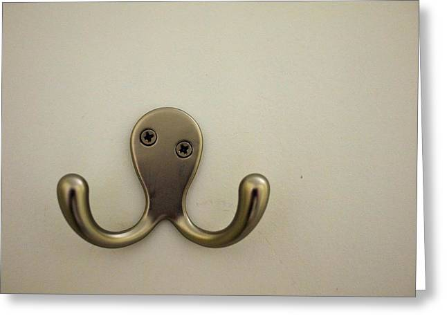 Happy Octopus Greeting Card by Michael Oster