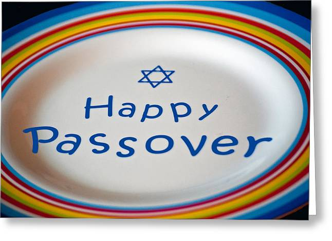Pesach Greeting Cards - Happy Passover Greeting Card by Roger Reeves  and Terrie Heslop