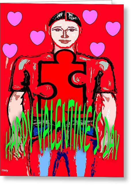 Happy Valentine's Day 20 Greeting Card by Patrick J Murphy