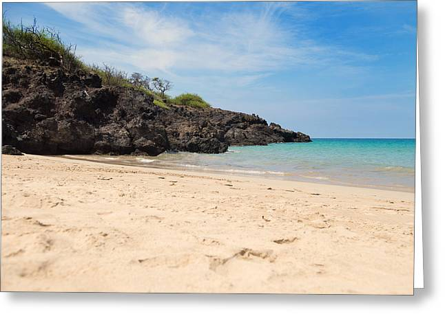 Beach Photograph Greeting Cards - Hapuna Beach Greeting Card by Nastasia Cook