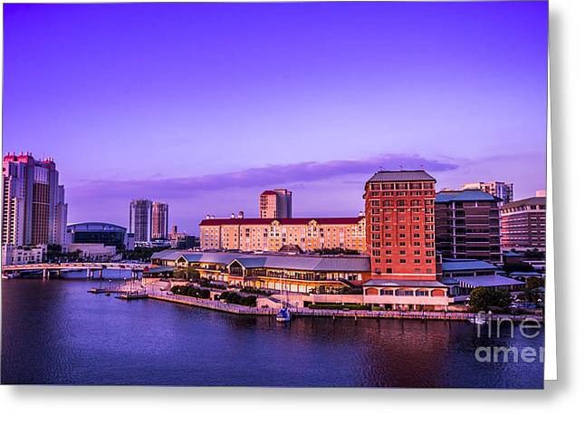 Harbor Island Greeting Card by Marvin Spates