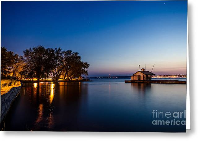 Prescott Greeting Cards - Harbor Master  Greeting Card by Patricia Trudell
