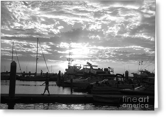 Harbour Clouds Greeting Card by WaLdEmAr BoRrErO