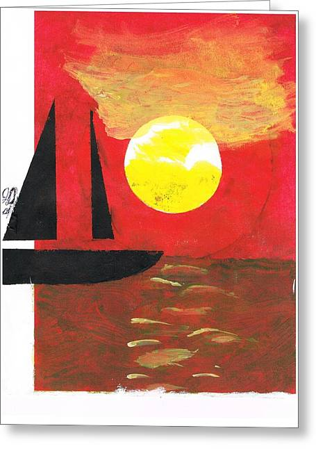 Dream Scape Greeting Cards - Harbour Of Your Mind Greeting Card by John Deeter