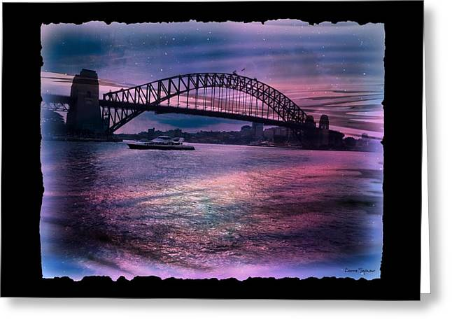 Harbour Romance Greeting Card by Leanne Seymour