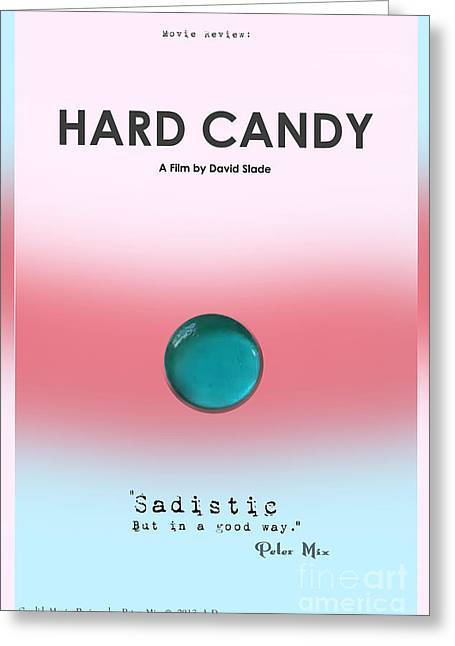 Written In The Stars Greeting Cards - Hard Candy Movie Review. Sadistic But in a Good Way Greeting Card by Peter Mix