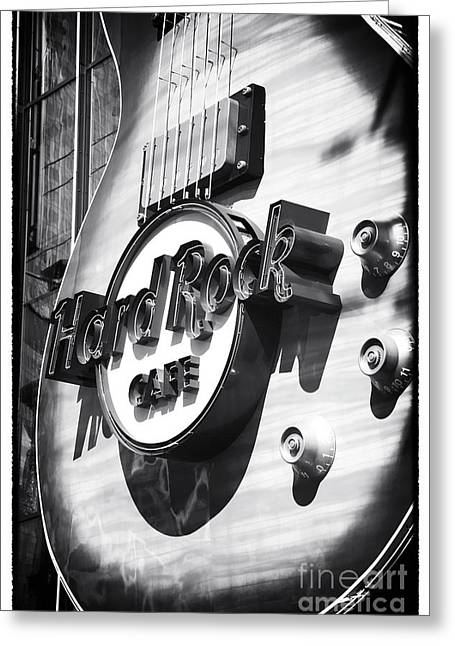 Hard Rock Cafe Greeting Cards - Hard Rock Cafe Greeting Card by John Rizzuto