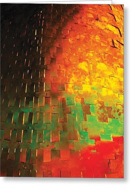 Posters Greeting Cards - Hard Skin Greeting Card by David Davies