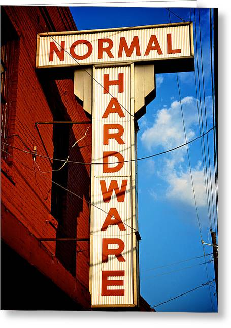 Hardware Greeting Cards - Hardware Store Greeting Card by Brandon Addis