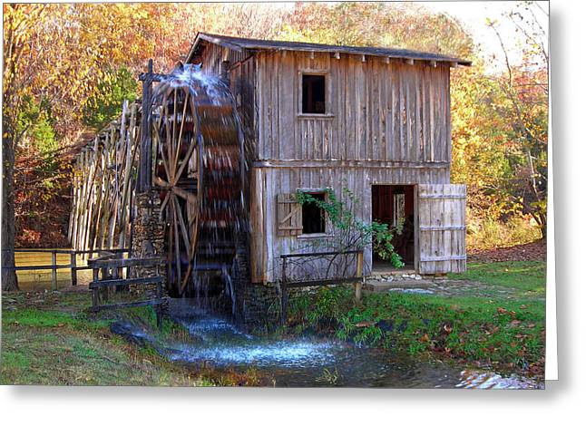Hardy Mill In Autumn Greeting Card by Ed Cooper